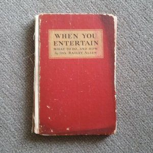"1932 ""When You Entertain"" put out by Coca-Cola"